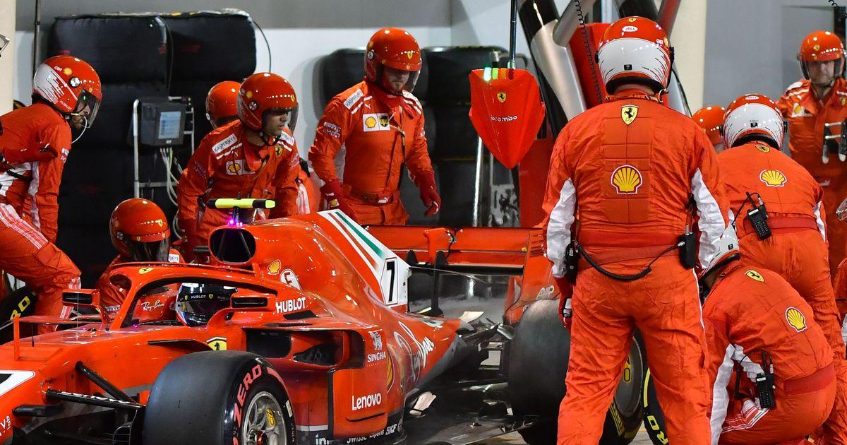 Raikonner Abandono F1 2018 Bahrein