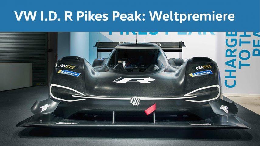 Volkswagen I.D. R Pikes Peak, un electrizante desafío