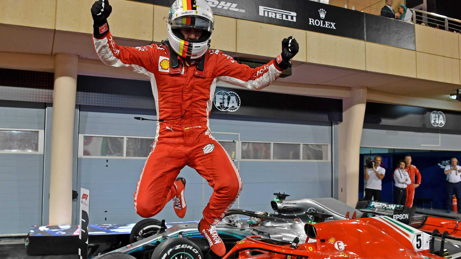 Vettel Wins Bahrein F1 2018