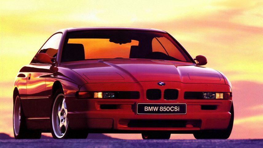 Coche del día: BMW Serie 8 (E31)