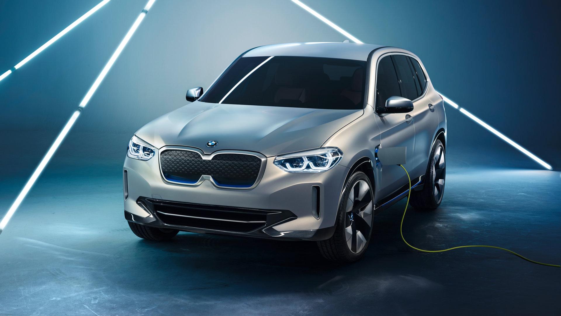 BMW iX3 Concept, el primer SUV eléctrico de la marca alemana