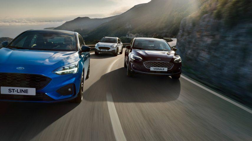 Para el Ford Focus híbrido habrá que esperar a abril de 2020