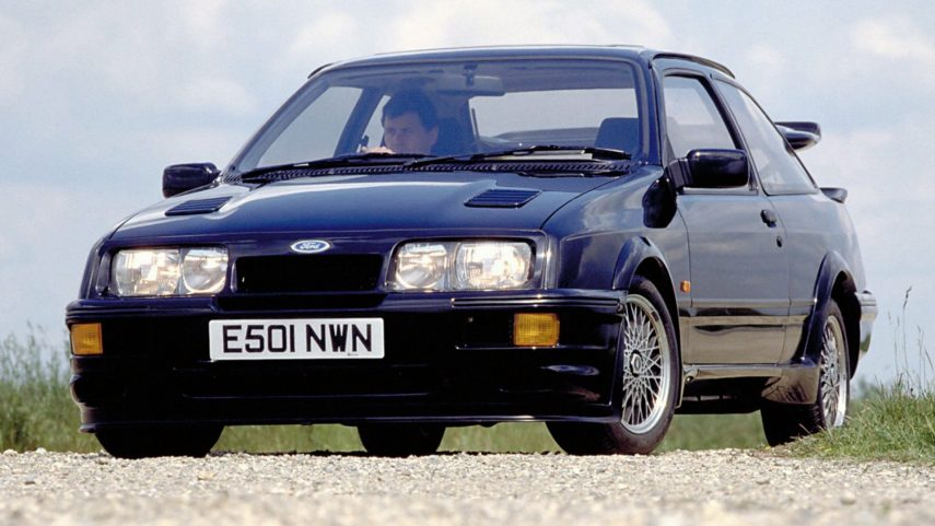Coche del día: Ford Sierra Cosworth RS500