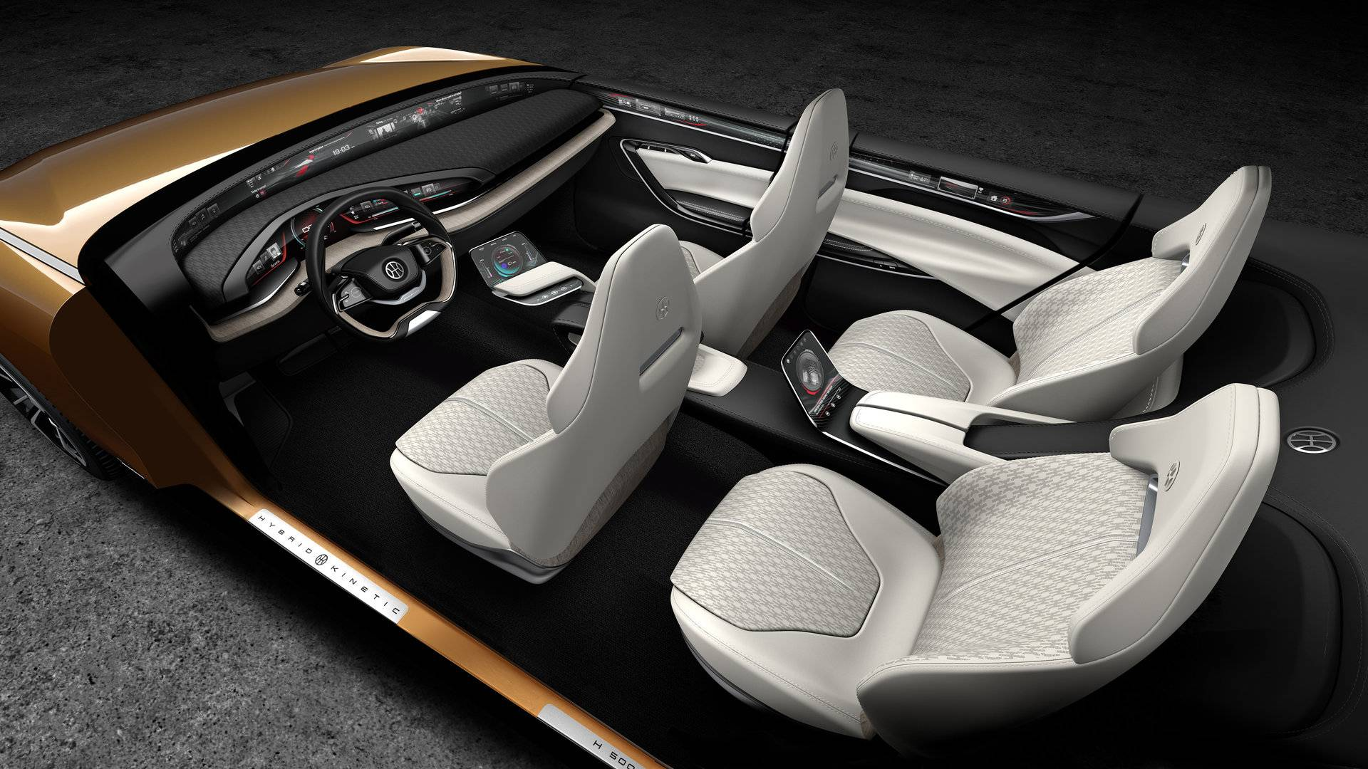 Hybrid Kinetic H500 Concept Interior