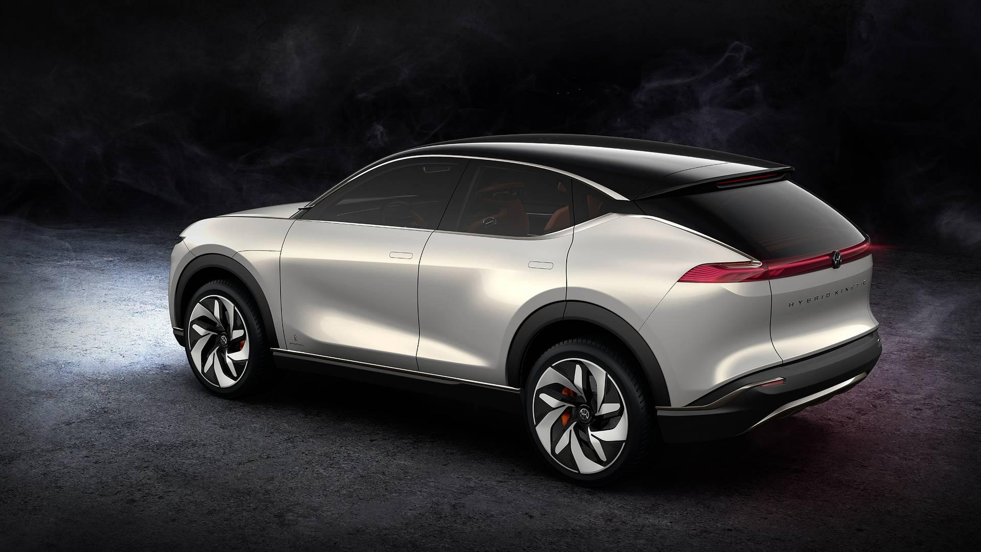 Hybrid Kinetic K350 SUV Concept