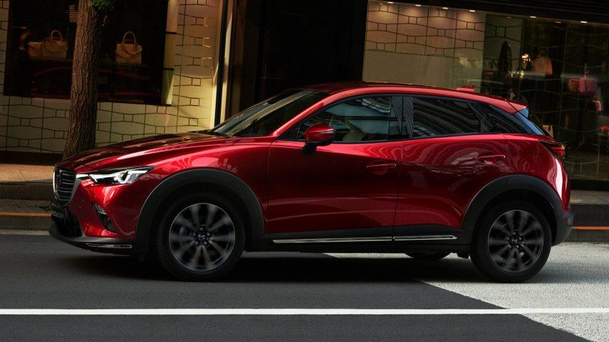 El Mazda CX-3 se actualiza este año