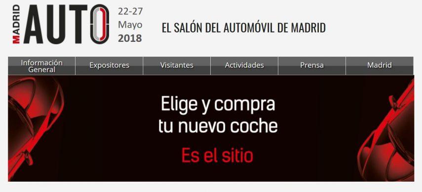 Hoy se inaugura Madrid Auto 2018