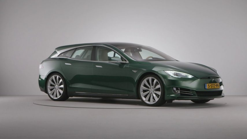 Remetzcar Shooting Brake: el Tesla Model S familiar hecho realidad