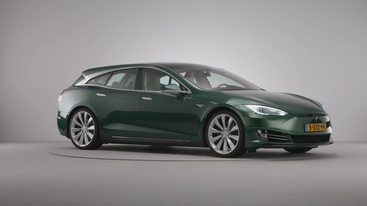Remetzcar Shooting Brake: el Tesla Model S familiar hecho realidad