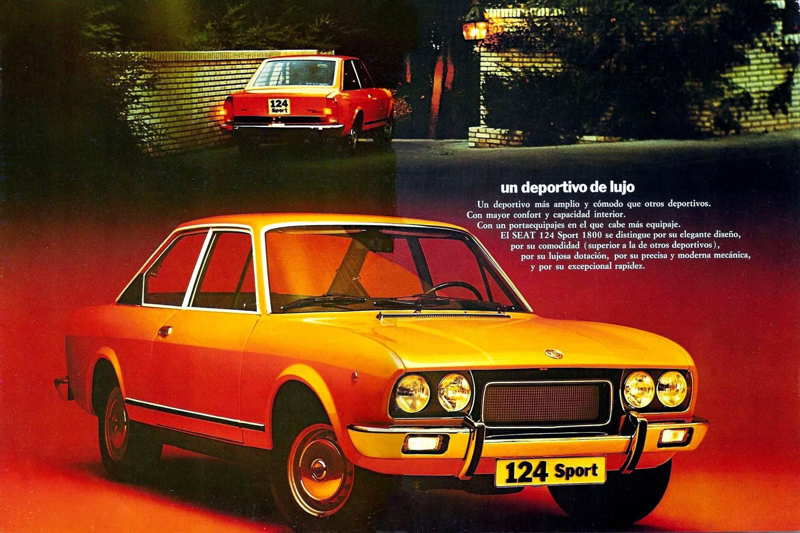 SEAT 124 Sport 1800