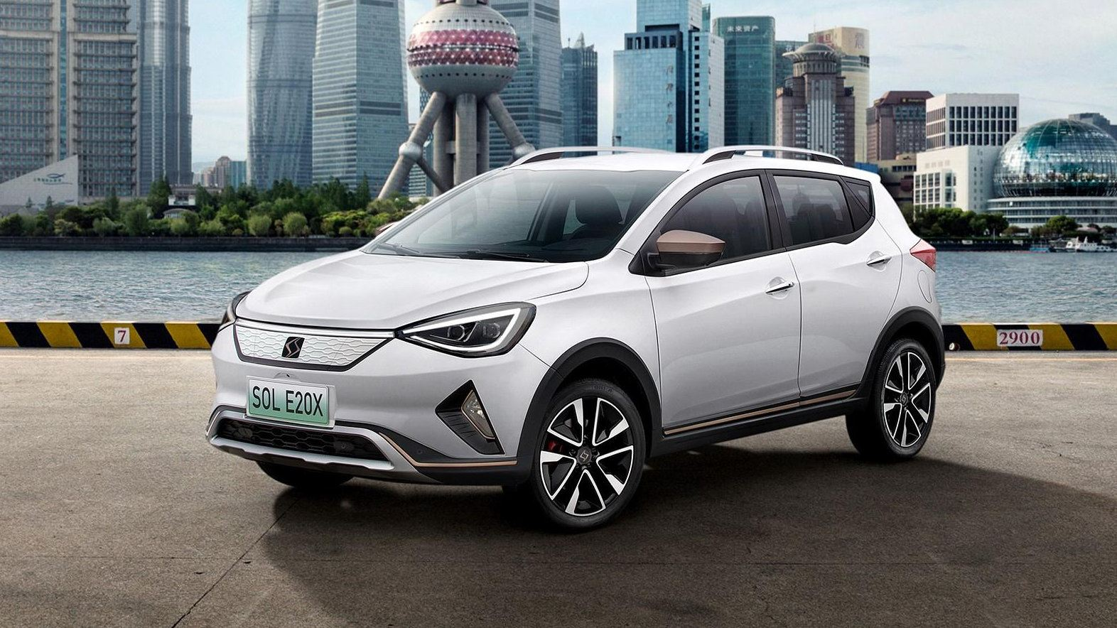Ya sale el Sol E20X de la cadena de producción en China