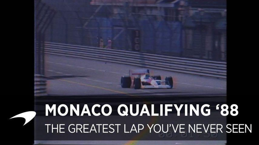 Así logró Ayrton Senna la pole position en Mónaco en 1988