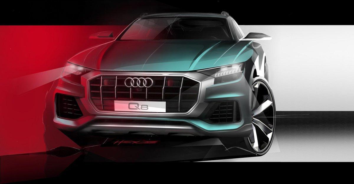 Antes de que el Audi Q8 se desvele en China, un anticipo: