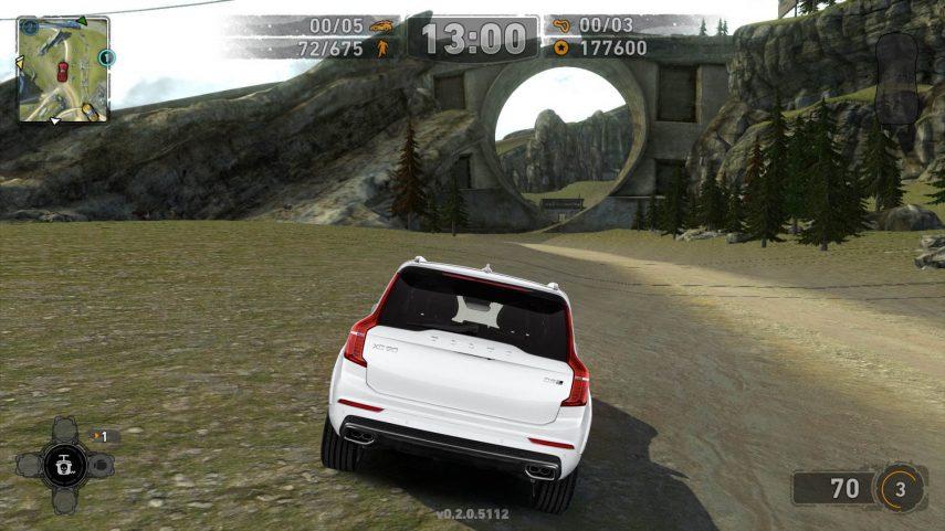 Un jugador se desquicia intentando jugar al Carmageddon con el Volvo XC90