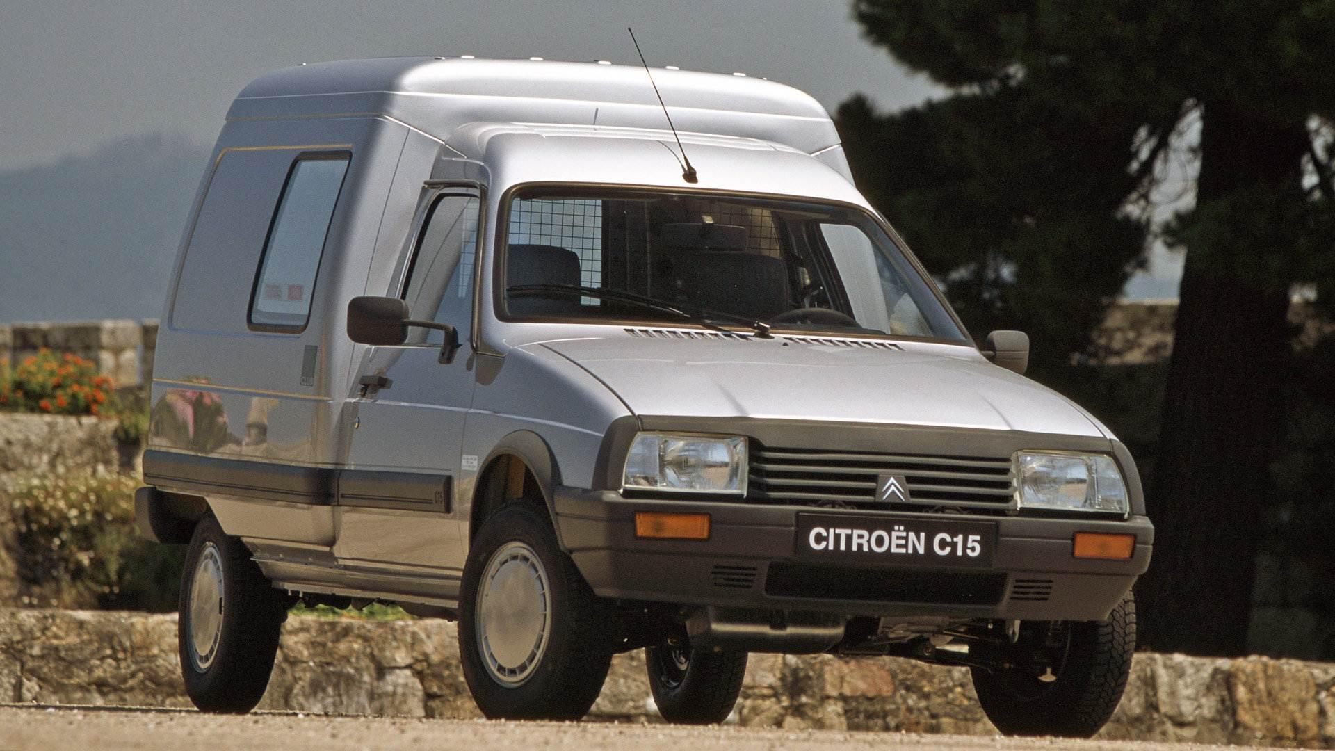 Coche del día: Citroën C15