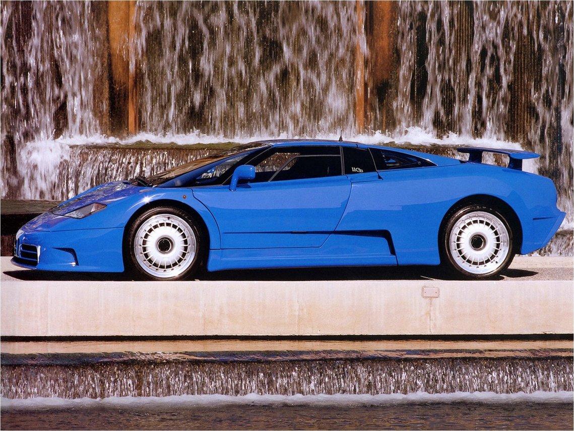 Marcello Gandini Bugatti Eb110