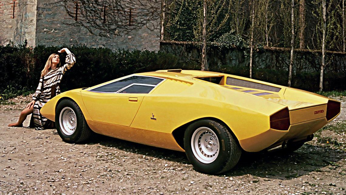 Marcello Gandini Lamborghini Countach