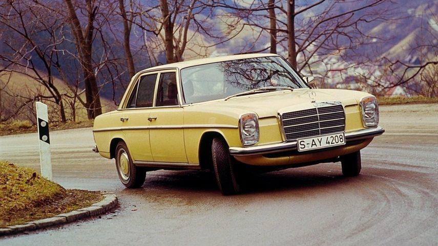 Coche del día: Mercedes-Benz 240 D 3.0 (W115)