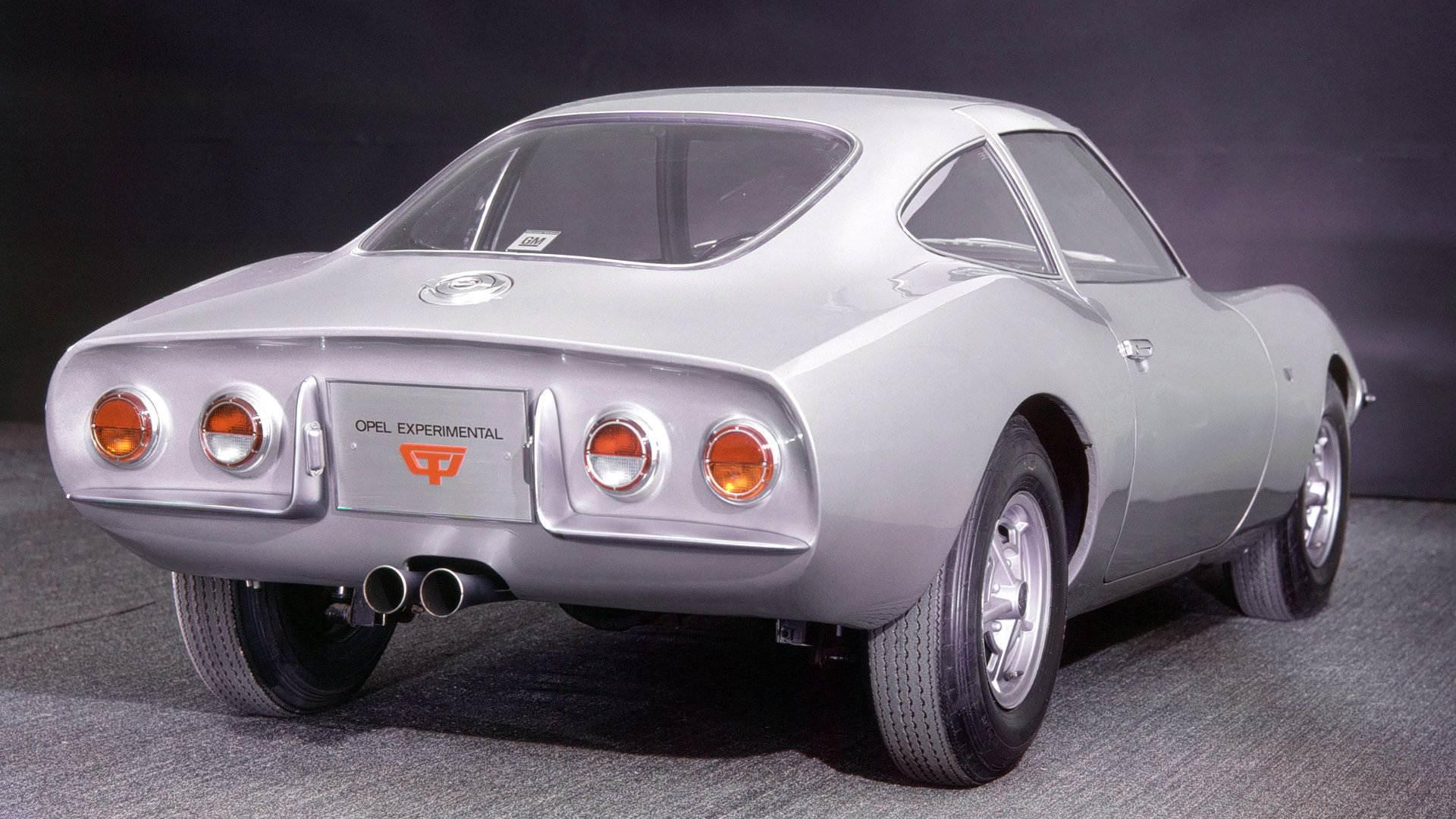 Opel GT Experimental (1965)