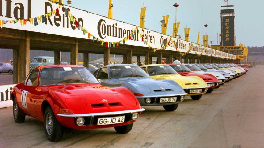 Los Opel GT clásicos recorrerán Alemania en septiembre