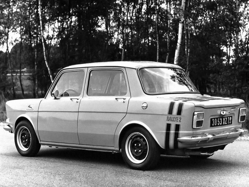 Simca 1000 Rallye (1972)