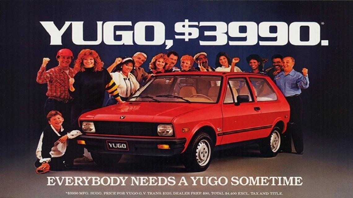 Publicidad de Yugo en EEUU