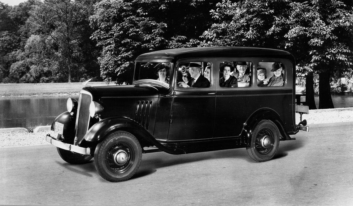 1939 Chevrolet Suburban Carryall