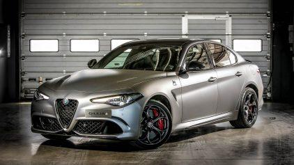 Alfa Romeo Giulia Quadrifoglio NRING