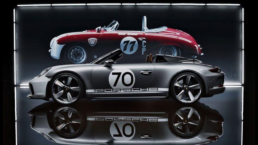 Porsche celebra su 70 aniversario con el 911 Speedster Concept