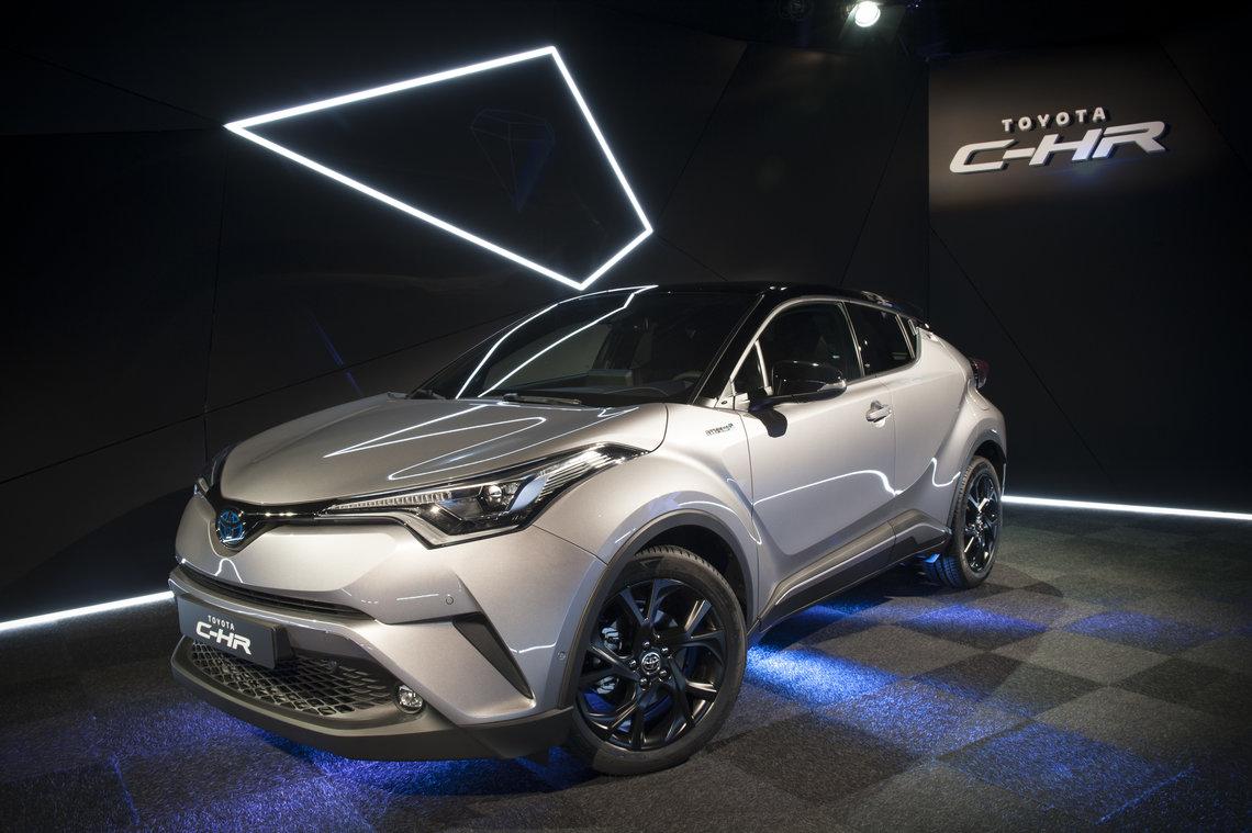 El Toyota C-HR llega a España como serie limitada de lanzamiento