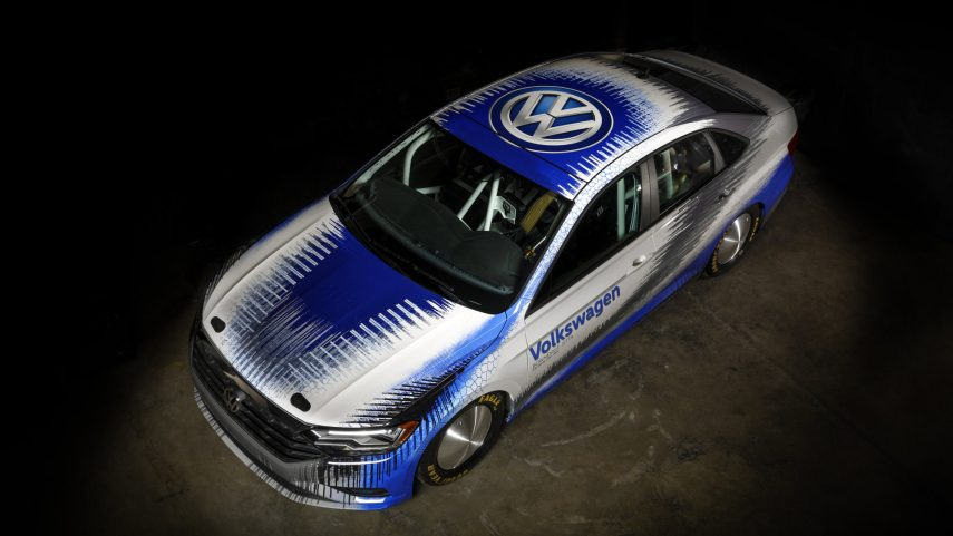 Este Volkswagen Jetta quiere batir los 335 km/h en Bonneville