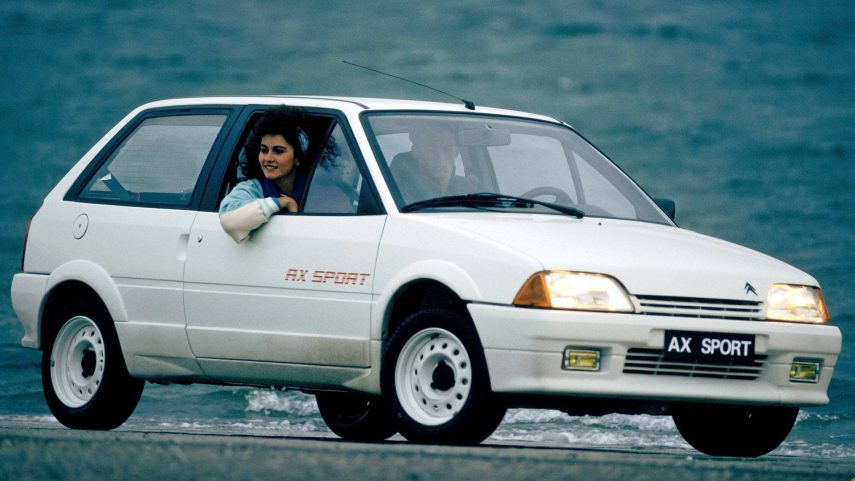 Coche del día: Citroën AX Sport