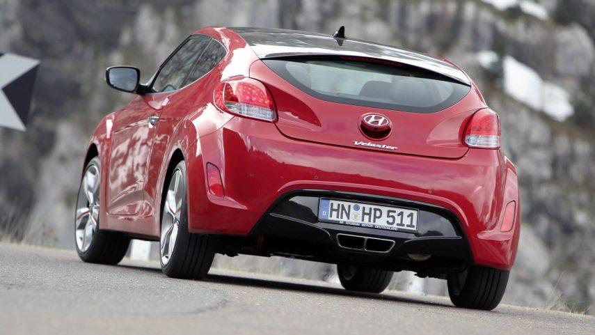 Coche del día: Hyundai Veloster (I)