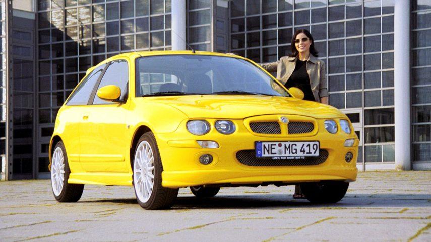 Coche del día: MG ZR 160