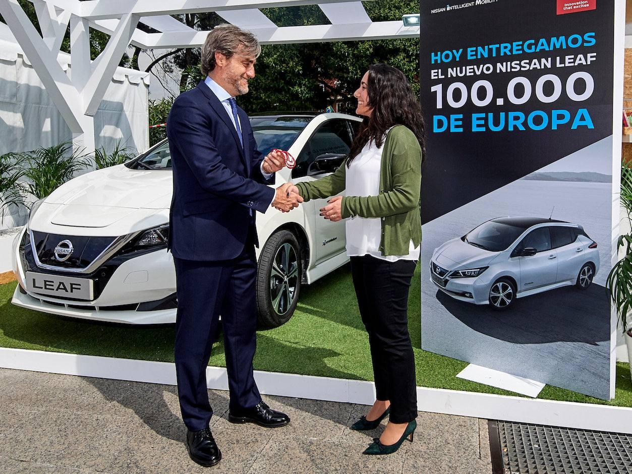Nissan Leaf 100.000 en Europa