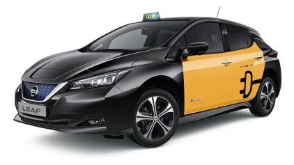 Nissan Leaf Taxi Barcelona