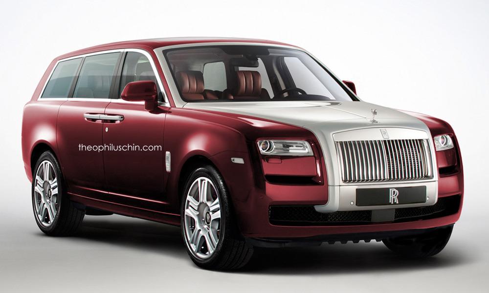 Rolls Royce Cullinan (recreación)