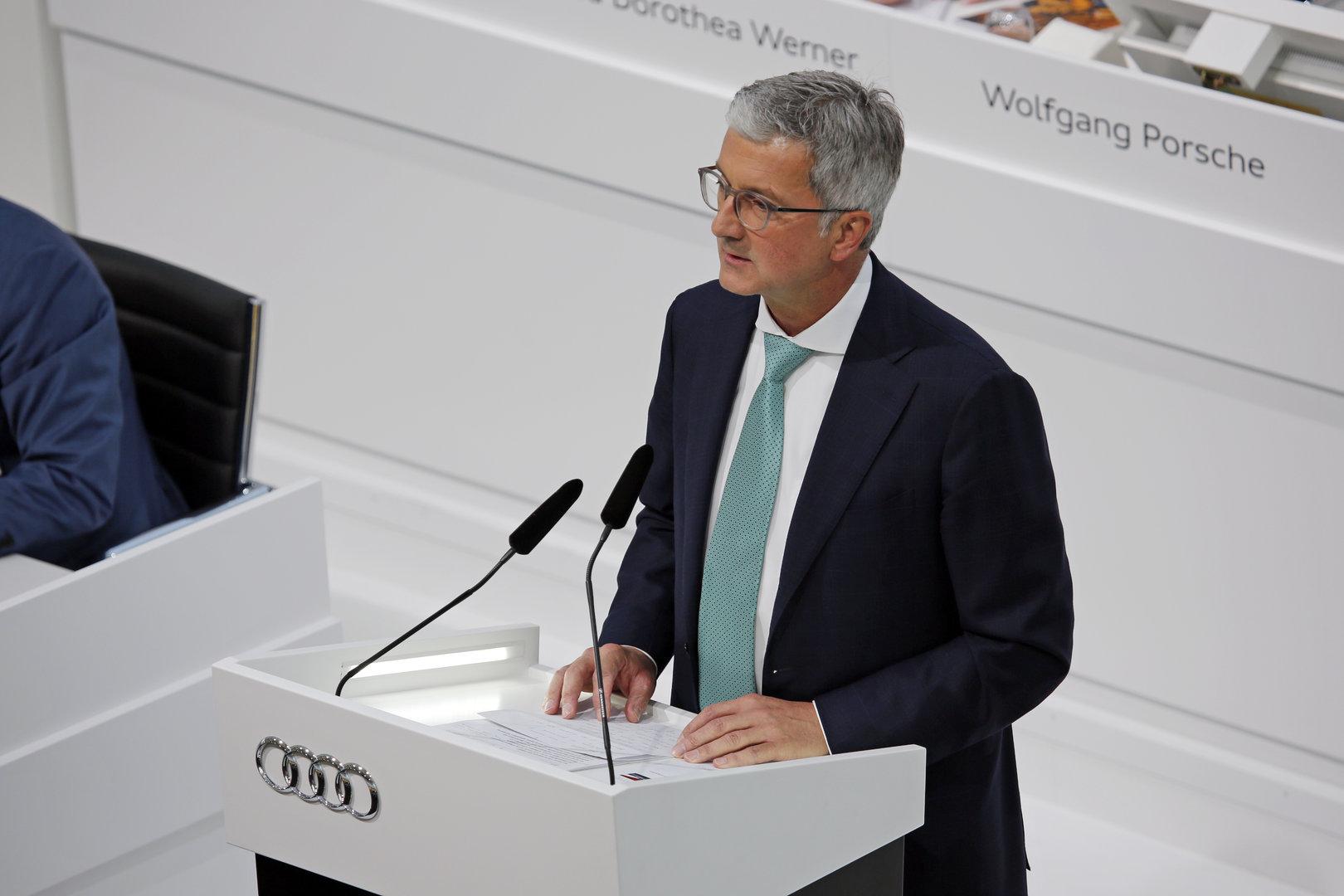Rupert Stadler, CEO de Audi, ha sido detenido en Alemania