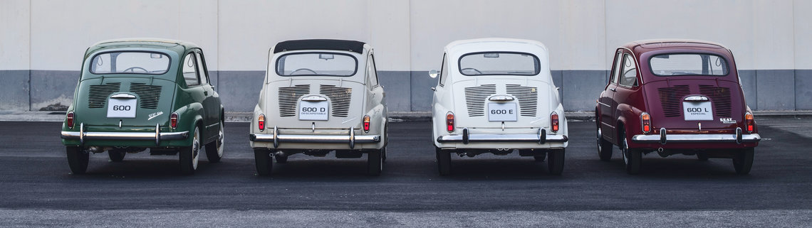 Comparatida de modelos SEAT 600
