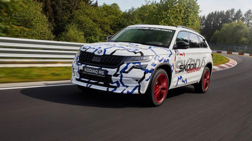 Škoda Kodiaq RS: nuevo récord en Nürburgring