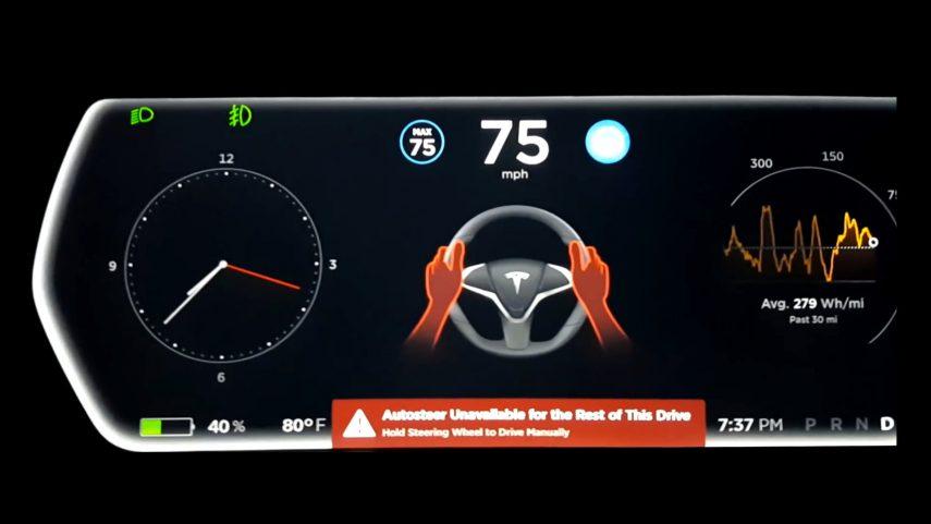 Los Tesla han recorrido con Autopilot más de 1.729 millones de kilómetros