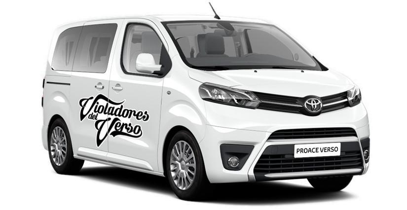 Violadores Del Verso renuevan como embajadores de Toyota