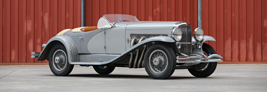 Un Duesenberg SSJ de 1935 ha marcado dos récords en Pebble Beach
