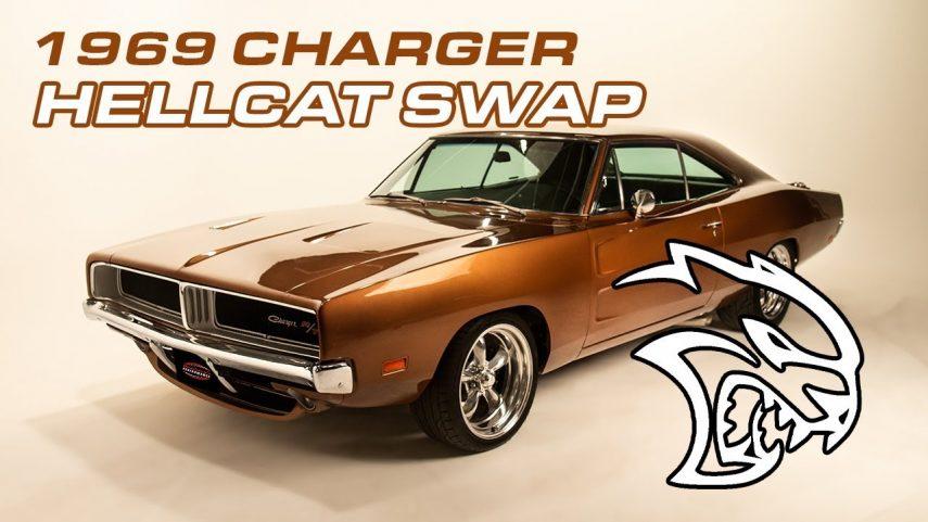 1969 Dodge Charger R/T Hellcat, los mayores también se modernizan