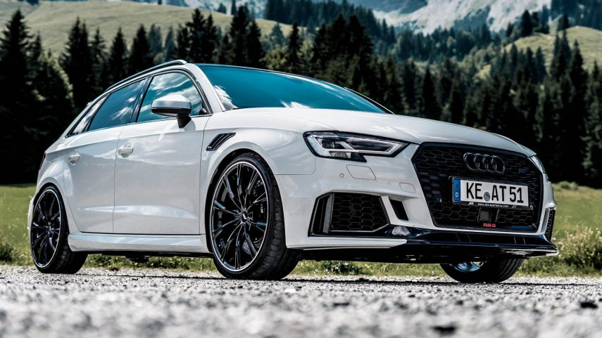 ABT Audi RS3 Sportback, brutalidad alpina