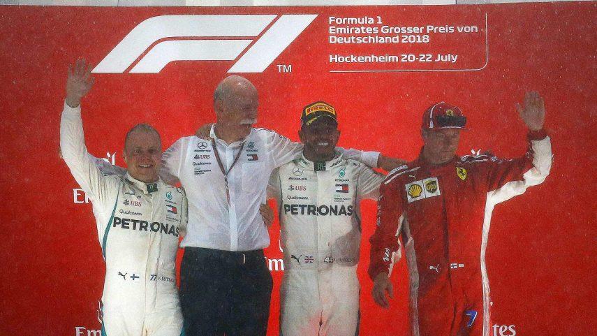 GP de Alemania: Remontada de Hamilton y oportunidad perdida de Vettel