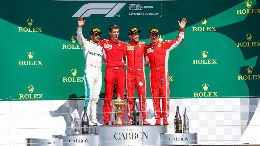 GP de Gran Bretaña: Vettel gana y Hamilton salva los muebles