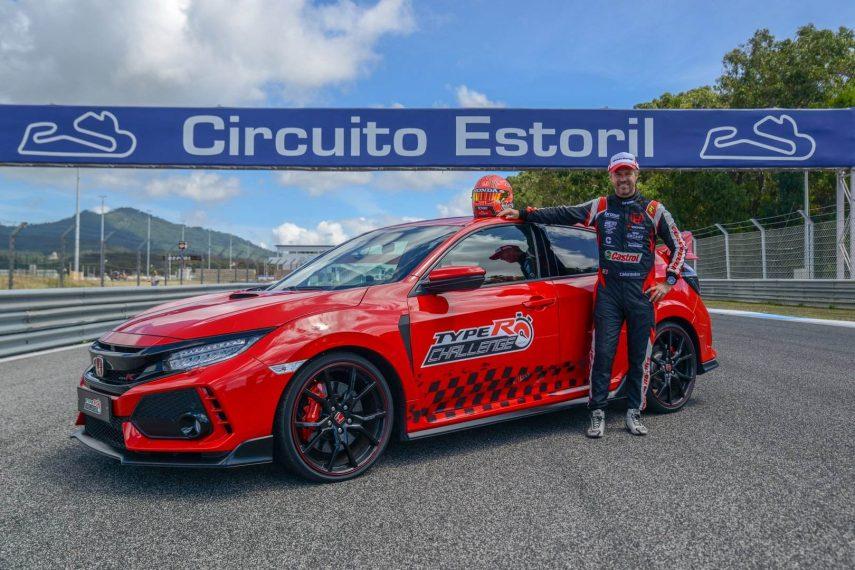 Nuevo récord para el Honda Civic Type R sobre el entramado de Estoril