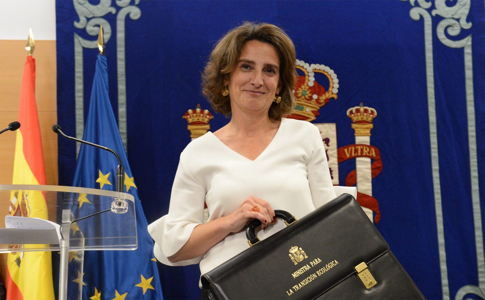 Teresa Ribera Ministra Transicion Ecologica