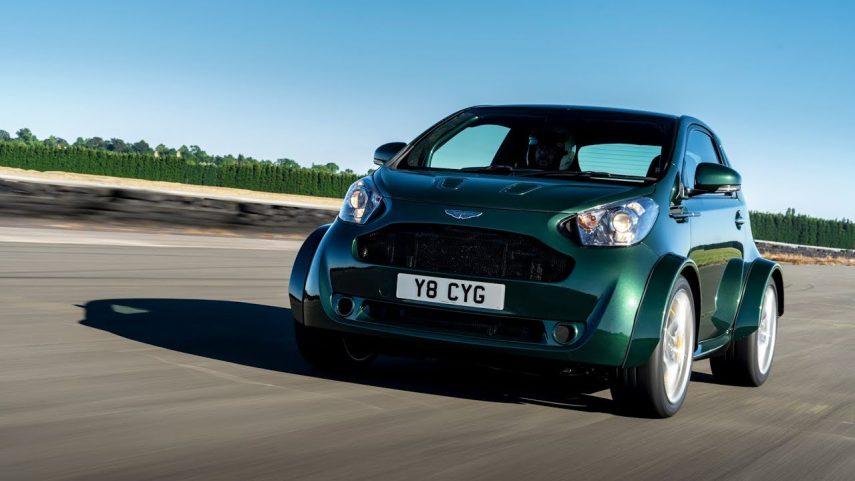 El Aston Martin Cygnet vuelve… con un V8 bajo el capó